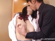 Ran Asaka knows how to please a huge cock.