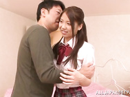Schoolgirl Ena Sakura goes on rampage and drillled hard.