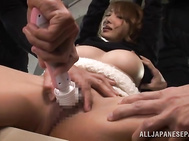 Busty Asian milf Kirara Asuka decides to take cock for a wild spin as she does all the crazy things in bed, this is after she was all alone and fingering her juicy cunt, she loves every episode as her face is filled with jizz after getting a hot headfucki