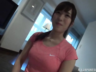 A horny Asian girl comes to visit her boyfriend and gets her sexy body teased in a kinky way.