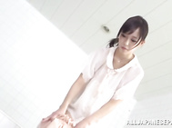Sweet beautiful Asian teen, Shiori Yamate learns to wash her hubby.