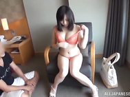 Teen with big tits, Mona Kasuga pleases guy with hardcore sex.
