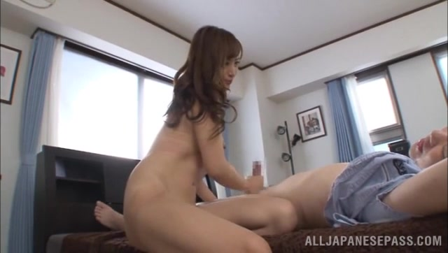 Sweetie rides the cock and blows it hard in sleazy manners before enjoying hardcore sex from behind, posing it all to the greedy voyeur which feels astounding and fully pleased.