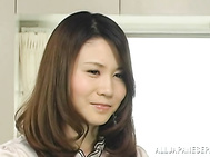 Appetising Japanese AV girl gets drilled in a doggystyle.