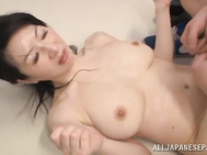 She is one horny chick when she sees cock!.