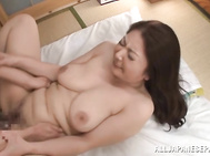 She has massive juicy body and big bubble butt, and her horny lover worships her big juicy tits.