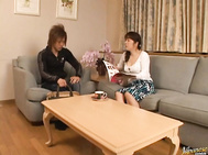Eri Nakata Japanese mother is a bad mature babe.