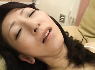 Horny mature chick sucks cock after she gets licked.