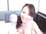 Lovely mature chick Mukai Rina enjoys being teased and licked by her active boyfriend.