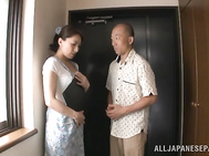 Innocent looking Asian milf Marina Matsumoto drilled hard.
