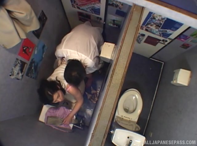 Little does she know that the guy has placed a secret cam in her office, which catches every minute of their filthy Japanese hardcore porn show, like an insolent voyeur!.