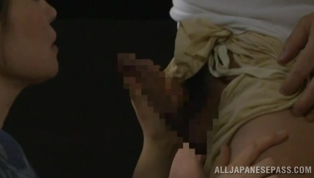 Impressive scene of high class Asian porn with steamy Japanese wife while enjoying a younger dick in full hardcore action.