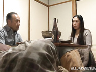 Japanese wife is amazing in full hardcore scene.