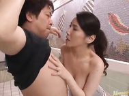 Juri Yamaguchi is a hot mature Japanese model who enjoys lots of sex.