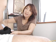 Kyoko is a pretty mature Asian babe.