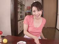 Maki Houjo Lovely and hot mature Japanese woman.