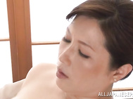 Teasing him with her sensual moves and voice, gets the guy horny and in for a harsh Asian porn show with this lady, fucking her brains out during appealing hardcore event.