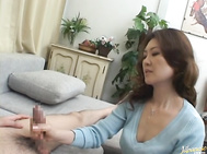 Mina Toujou is a hot mature Asian housewife.