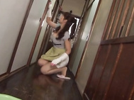 Mirei Kayama kinky mature Asian woman.