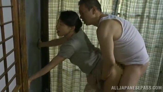 Naughty mature gets hot pussy deep pounded.