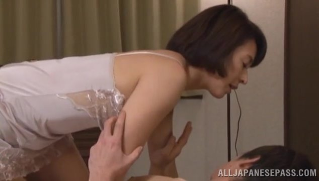 Sexy porn show with Japanese mom Hisae Yabe.