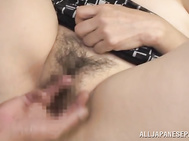 This naughty vixen gets her pussy always ready for fuck, and she is really skillful in sex games.