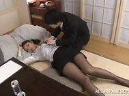 Steamy mature office lady Reiko Kobayakawa is really perfect for sex.