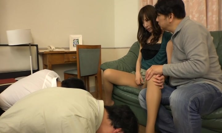 Wife's Cuckold Sex In Front of Husband natr-442.