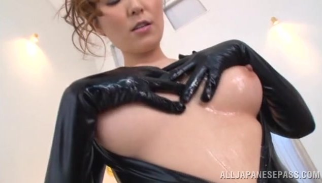 Time for an amazing threesome hardcore porn with big tit Japanese milf Yuna Shiina and her younger friend who seems horny and eager to play with this amazing dick.