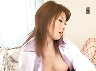 Rio Hamasaki is a naughty nurse who enjoys being a wild nurse.