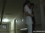 Amazing Nurse knows how to give head.