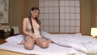 Cock-starved vixen Kiriko Kasumi begs for dick and gets fucked.