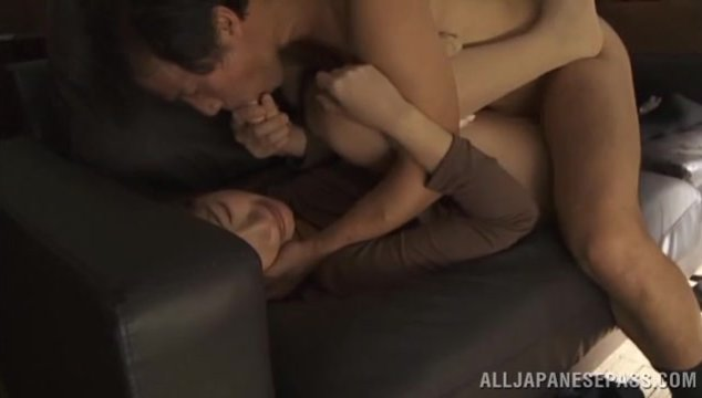 He inserts his impressive boner from behind, surprising the hottie with a perfect hardcore sex action, and she gets banged properly, and gets her pussy creamed.