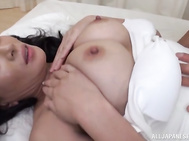 Busty milf gets nailed in threesome fuck.