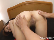 Fingering her pussy first and letting her enjoy a great cock sucking scene made her relax and recives the dick deeper that ussual.