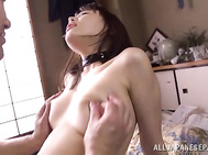 Her experienced lover gives her the hottest body treatment she has ever experienced before, and it gives her incredible pleasure when he gives her deep pussy fingering and fucks and creams her hot hairy pussy in a perfect way.