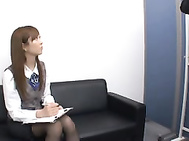 Ayane Sakura Naughty secretary gives amazing office sex.