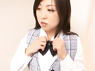 Doesnᄡt Yura Aikawa look so hot in her office clothes? Thereᄡs just one thing missing though, and itᄡs complete when sheᄡs got her lips wrapped around a swollen cock and her tits are busting out of her top.