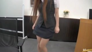 Naughty Office Fuck With Riona Minami In Glasses.