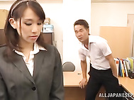 Ki Hanyuu having her pussy deeply stimulated.