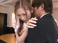 Asami Ogawa office lady banged hard and thick cumshot.