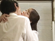 Office Fucking With Yui Hoshino Begging For It On Her Desk.