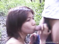 Great amateur Asian porn show with horny milf.
