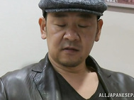 Luscious Japanese mature Misa Yuki babe gets her head and pussy fucked.