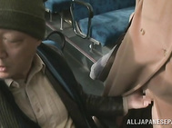 Cutie enjoys serious finger fucking moments while stroking his dick in the same manner, moaning and enjoying harsh pleasures during this kinky yet passionate oral adventure.