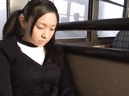 Teen Nana Ogura Fucks A Stranger On A Public Bus.