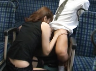 Check out this hot milf in sexy lingerie right here and black stockings, she is such a fucking hot hairy pussy babe that really likes to gobble cock and here you will be seeing that this babe likes to end off her action in style with lots of dick riding a