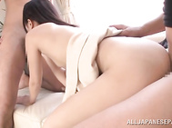 Fuckable Asian cutie Ruri Narumiya cannot stop hardcore banging - Weird Japan.
