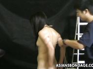 After her photos have been taken in multiple poses, this Asian hottie is about the up the stakes.